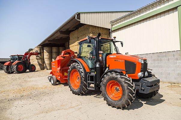 Tractors MGX III - KUBOTA