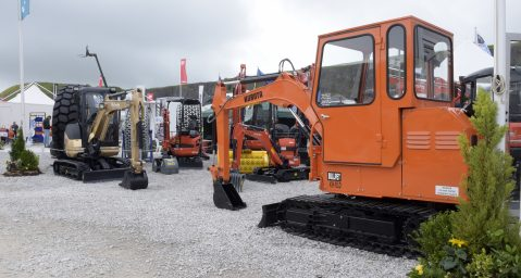 HROC Ltd,  Kubota at The Hillhead Show in Buxton Derbyshire 2016 Pictures by Paul Thomas Photographic Ltd 0121 353 7299 Mobile 07773340163  email info@ptpimages.co.uk web: www.ptpimages.co.uk