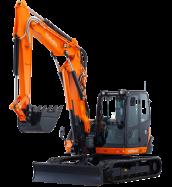 Mini-Excavators KX080-4α - KUBOTA