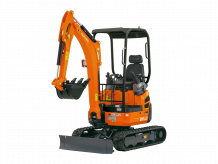 Mini-Excavators U17-3a - KUBOTA