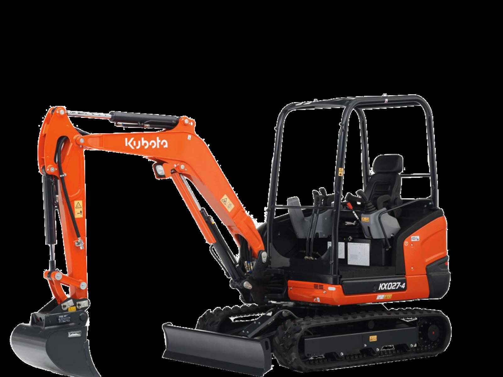 Mini-Excavators Kubota KX027-4 - Kubota
