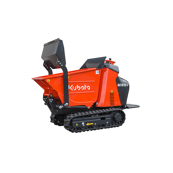 track dumpers kubota kc70sl 4 kubota. Black Bedroom Furniture Sets. Home Design Ideas