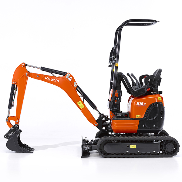 excavator kubota u10 3 side lever kubota. Black Bedroom Furniture Sets. Home Design Ideas