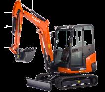 Mini-Excavators KX030-4 - KUBOTA