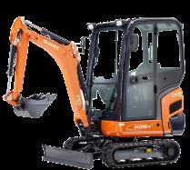Mini-Excavators KX016-4 - KUBOTA