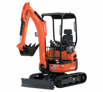 Mini-Excavators U17-3α - KUBOTA