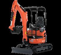 Mini-Excavators U17-3αHI - KUBOTA