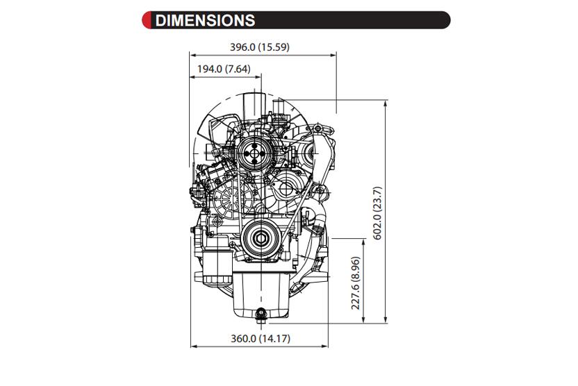 D1105-BG2-SAE-2 - KUBOTA