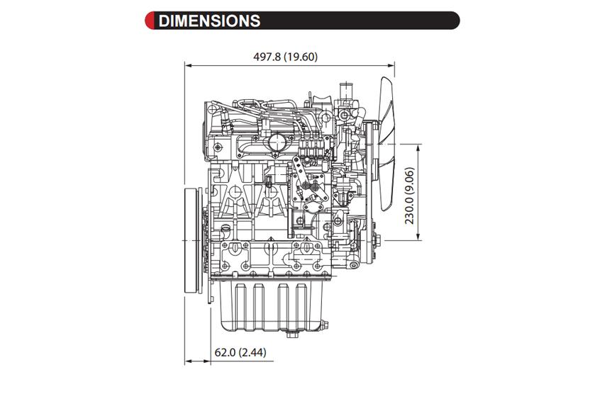 D1105-E2B - KUBOTA