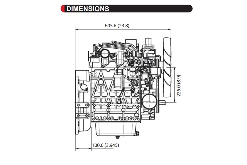 D1703-M-E3BG-SAE-2 - KUBOTA