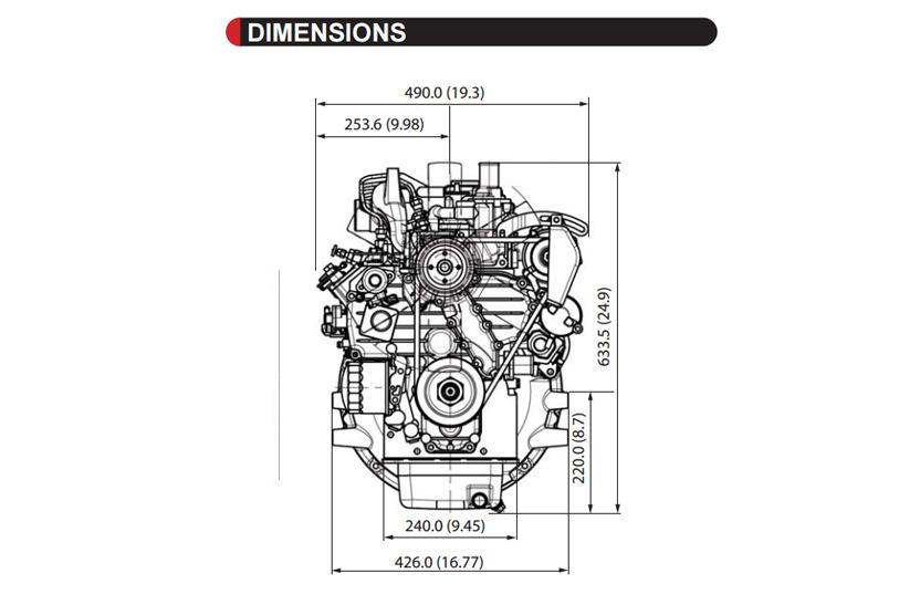 V2203-M-E3BG-SAE-2 - KUBOTA