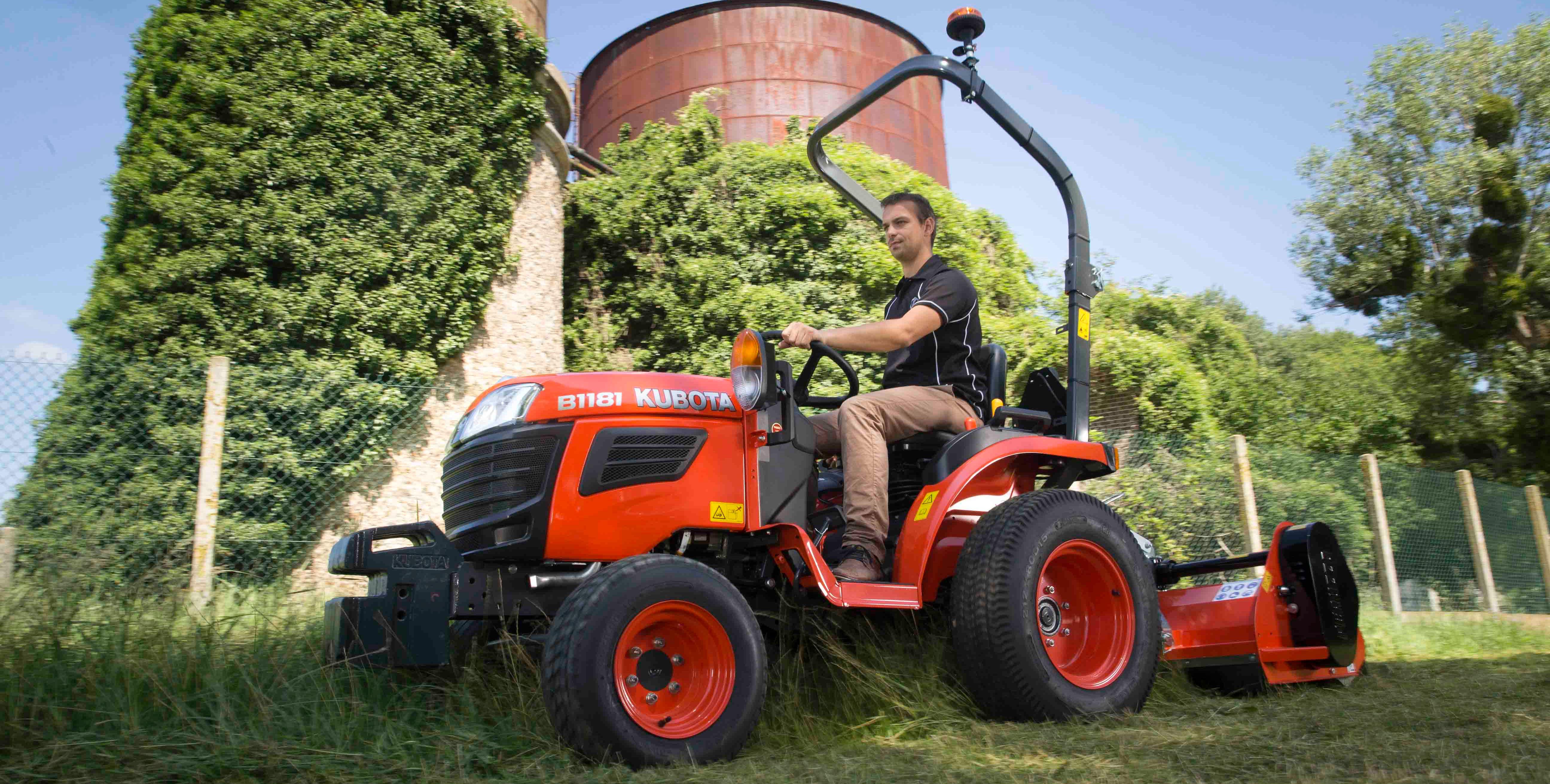 Kubota Tractor Rear View Mirror : Tractors kubota b