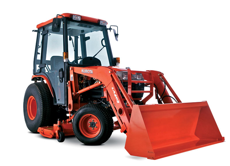 Implements Horsepower cross reference chart - KUBOTA