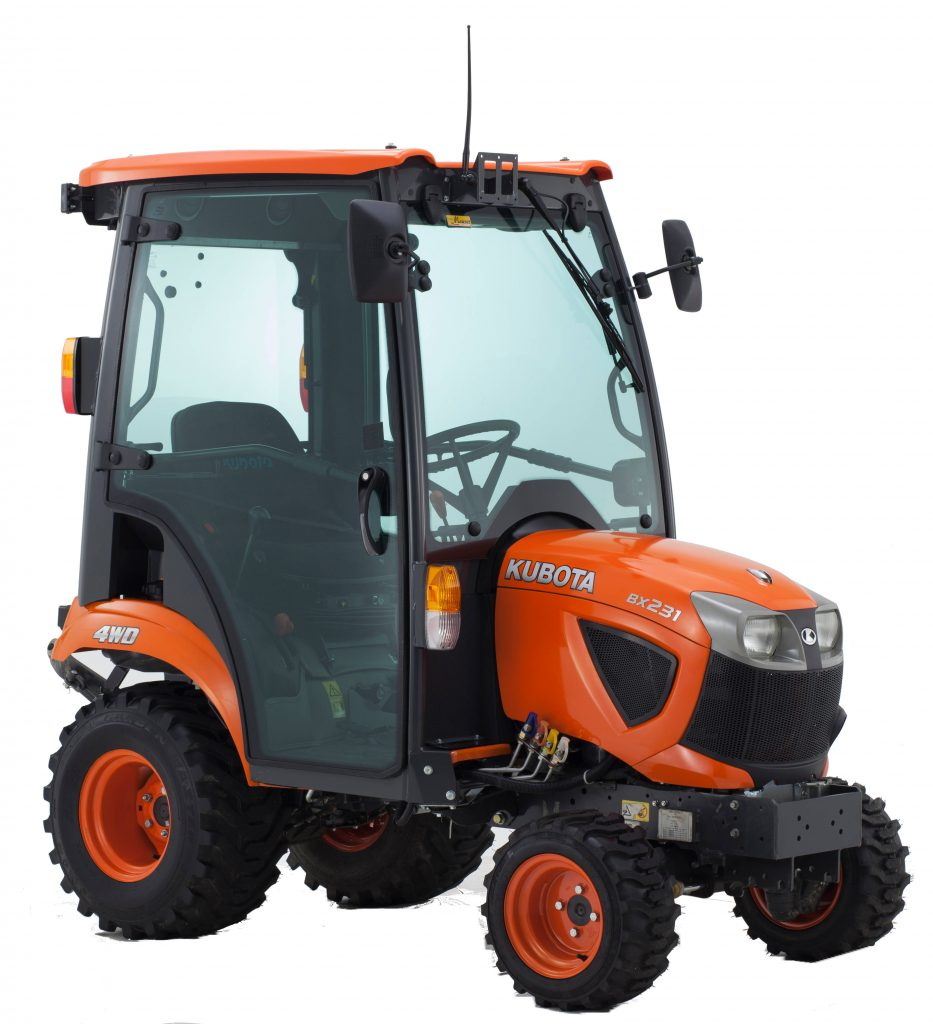 tractors kubota bx231 kubota. Black Bedroom Furniture Sets. Home Design Ideas